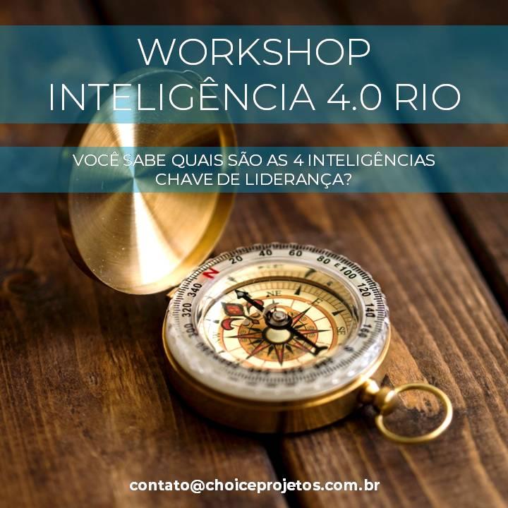 Workshop Inteligência 4.0 Rio | Online