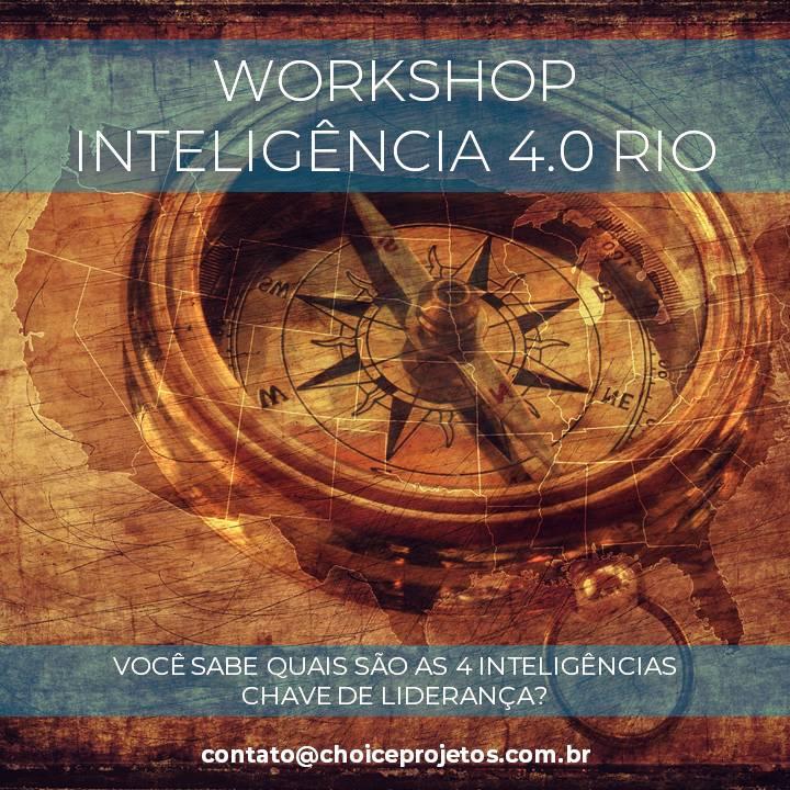 Workshop Inteligência 4.0 Rio | Presencial